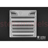 Grille mesh for 1/14 R/C Scania R470 R620 Highline (Silver Square) [LESU K-1601A-S]