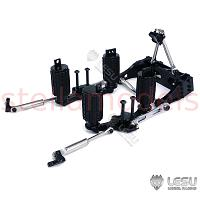 1/14 Tractor truck rear (RR) independent airbag suspension assembly [LESU X-8023-B]