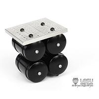Aluminum Air Tanks (4) with Platform (G-6094-A) [LESU]