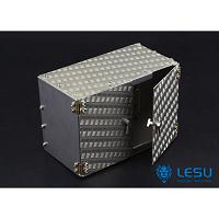 Aluminum Tool Box for 1/14 Tractor / Dump Trucks (G-6056) [LESU]