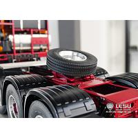 Spare wheel/tire for coupler mounting on 1/14 TAMIYA Tractor Trucks (G-6119) [LESU]