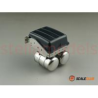 Battery box with air tanks for 1/14 R/C Mercedes Benz Actros 3363 1851 [SCALECLUB]