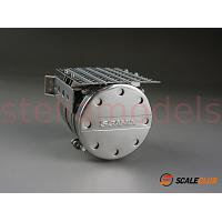 Metal exhaust tank for 1/14 R/C Scania R620 R470 Tractor Trucks [SCALECLUB]