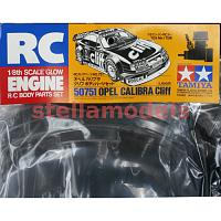 50751 Opel Calibra Cliff Body Parts Set (1/8 Glow Engine)