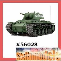 56028 Russian Heavy Tank KV-1 - Full Option Kit