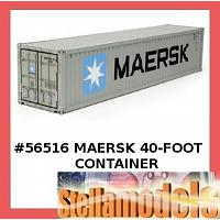 56516 MAERSK 40-FOOT CONTAINER