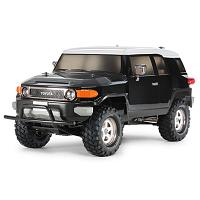 58620 CC-01 Toyota FJ Cruiser Black Special (Painted Body) w/ESC+LED