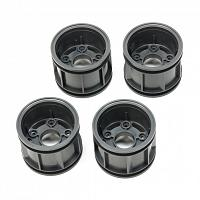 54873 WR-02CB T Parts (Wheel Rims) (Deep Grey) [TAMIYA]