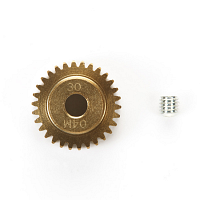 04 Module Hard Coated Aluminum Pinion Gear (30T) [TAMIYA]