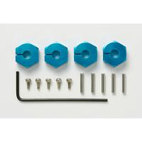53823 Clamp Type Aluminum Wheel Hub (5mm Thick) [TAMIYA]
