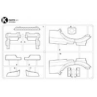 K Parts Bag for TAMIYA 1/14 R/C Mercedes-Benz Arocs [TAMIYA]
