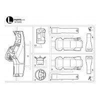 L Parts Bag for TAMIYA 1/14 R/C Mercedes-Benz Arocs [TAMIYA]