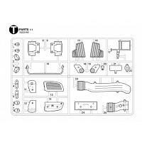 T Parts Bag for TAMIYA 1/14 R/C Mercedes-Benz Arocs [TAMIYA]