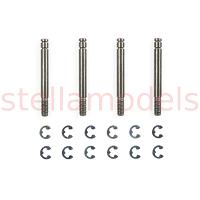 TRF Damper Piston Rod (4 pcs.) [TAMIYA]