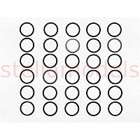 Dia. 10mm Shim Set (3 Types / 10pcs. Each) [TAMIYA]
