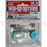 DB01 Aluminum One-Piece 18T Pulley [TAMIYA]