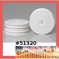 51320 DB01 Dish Wheels (Front/White)