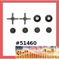 51460 TA06 Gear Differential Unit Bevel Gear Set