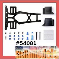 54081 F103 Long Carbon Upper Deck Set