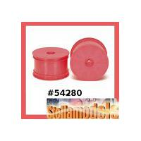 54280 DN-01 Rear Dish Wheels (Pink)