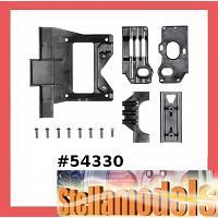 54330 F104 Carbon Reinforced C Parts ( Gear Case)