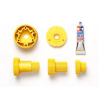 54809 GF-01/G6-01 Gear Set (Yellow) [TAMIYA]
