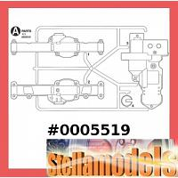 0005519 A Parts for CC01 Jeep Pajero Wrangler