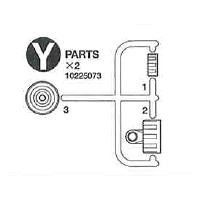 10225073 Y Parts (2Pcs.) for #58477 DN-01, #50519