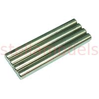 19804301 2.6 x 27mm Shaft (4Pcs.) : DB01, TRF201, TRF501X, TRF503, TRF511