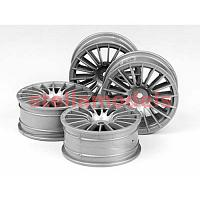 51046 1/10 Medium-Narrow 18-Spoke Wheels (Offset 0)