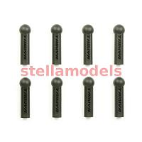 51283 TRF501X 5mm Reinforced Adjuster (8pcs)