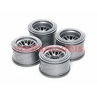 51398 F104 Mesh Wheel Set for Rubber Tires