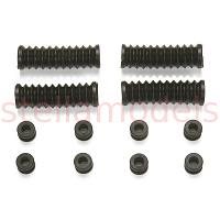 R/C Car Rubber Parts Set A [TAMIYA #51498]