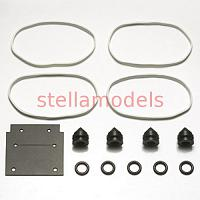51499 R/C Car Rubber Parts Set B