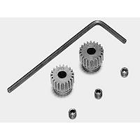 53101 RD 0.4 STEEL PINION GEAR SET (20T, 21T) [TAMIYA]