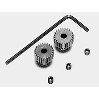 53103 RD 0.4 STEEL PINION GEAR SET (24T, 25T) [TAMIYA]
