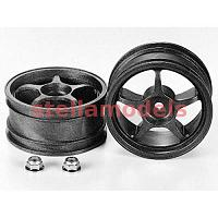 53335 Reinforced One-Piece Spoke Wheels (1 pair)