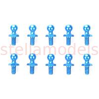 53642 5mm Alum Ball Connector (Blue)