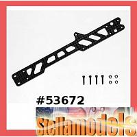 53672 TT-01 Carbon Upper Frame