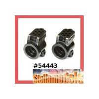 54443 XV-01 Carbon Reinforced E Parts (Rear Uprights)