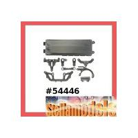 54446 XV-01 Carbon Reinforced K&KK Parts (Steering Arm & Battery Hatch)
