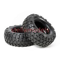54598 Rock Block Tires (Soft/2pcs.) (CC-01)