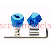 54610 Clamp Type Aluminun Wheel Hub (9mm Thick/2pcs.)