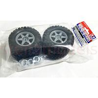 54742 GF-01 Cross Country Tire & Spring Set [TAMIYA]