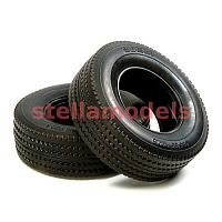 56528 Tractor Truck Tires (Hard / 30mm) 2pcs