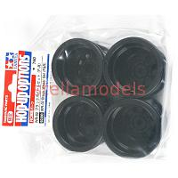 92288 WR-02 Black Wheel Set (F & R)