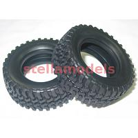 9805561 Tires (2Pcs.) for CC-01 Pajero