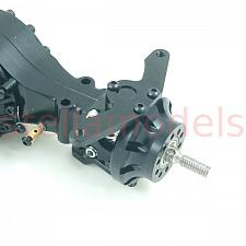 All Metal Front Axle with pass through & diff lock (FR) (Q-9013) 2