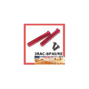 3RAC-BP40/RE Aluminum Body Post 40mm (Red)