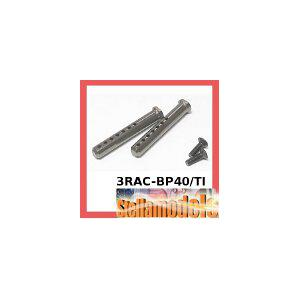 3RAC-BP40/TI Aluminum Body Post 40mm (Titanium Colour)
